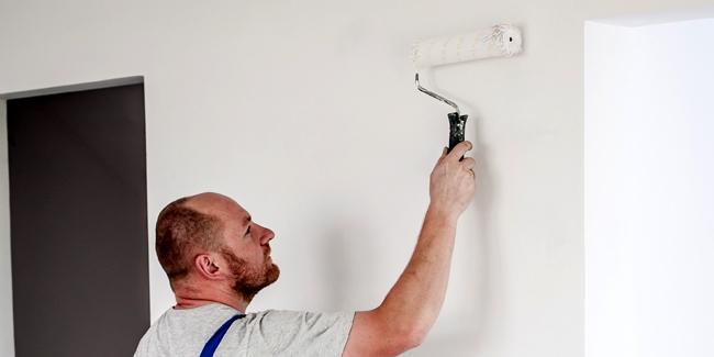 comment peindre un mur pour redonner du peps une pi ce. Black Bedroom Furniture Sets. Home Design Ideas