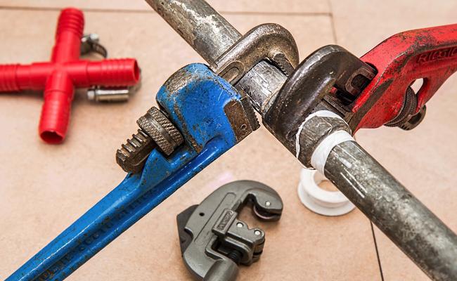 réparation de plomberie